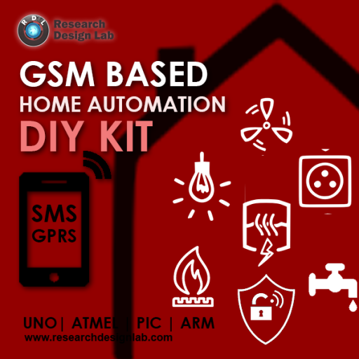 Gsm Based Home Automation Diy Kit Pic