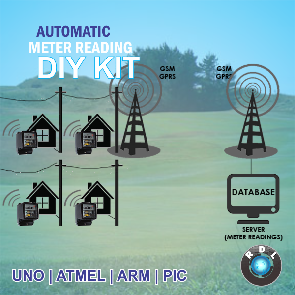 Electronic Meter Reading Device : Automatic meter reading diy kit pic