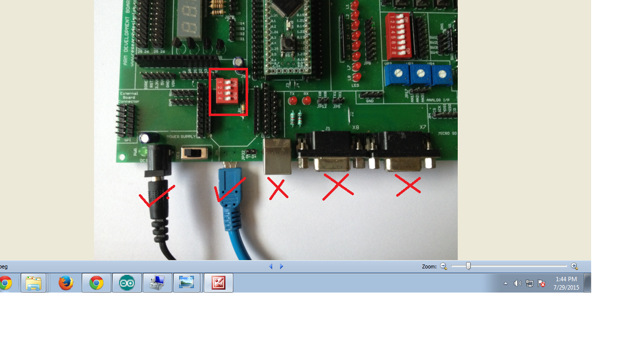 Arm Development Board Lpc2129 With Can Protocol Circuit Diagram Of 7segment Display Interfacing To Cortex M0 Kindly Download The Driver From Below Given Link