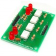 4 Channel Opto-Isolated Board Input 5V to 5V