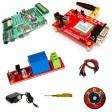 DIY GSM Based Remote Agriculture Pump ON/OFF Control System kit- ATMEL