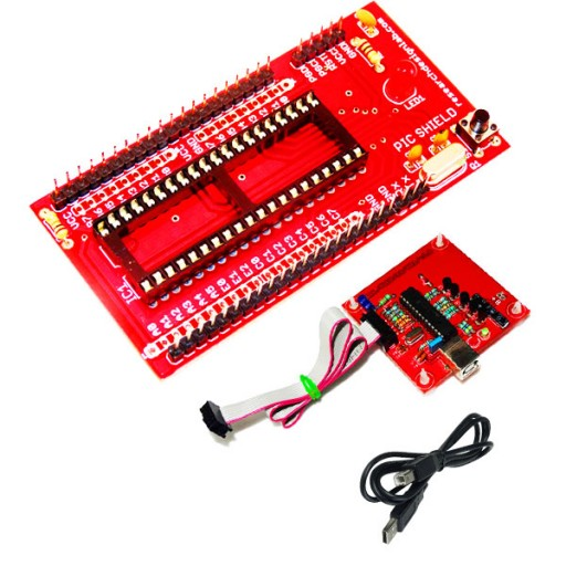 PIC Mini Project Board with PicKit2 USB Programmer ICD ICSP