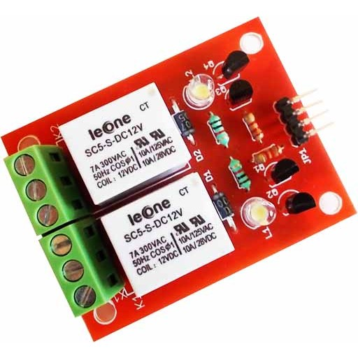 Two Relay Board 12V