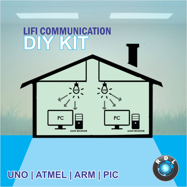 Lifi communication diy kit pic diy lifi communication kit pic ccuart Gallery