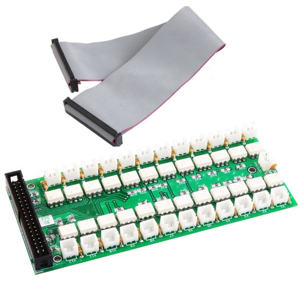 24 Channel Input Opto Isolated Board compatible to Raspberry Pi