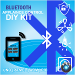 DIY Bluetooth and UNO Atmega328  Based Home Appliance Control System