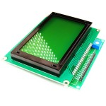 Graphical LCD Interfacing Board
