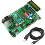 ARM Development Board-LPC2129 With CAN Protocol