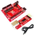 RDL UNO ATMEGA328 Development Board 3 in 1=Uno+Memory Shield+Xbee Footprint