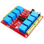 8 Channel Relay Board- Serial