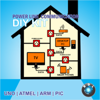 DIY Power Line Communication Kit-ATMEL