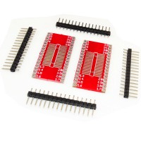 2Pcs 32 Pin SOIC Prototype PCB