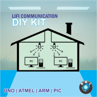 DIY LIFI Communication Kit-ATMEL