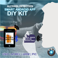DIY Alcohol Detection Smart Android App kit- UNO ATMEGA328