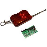 4-Channel Wireless Module Remote Control Kits 4 Keys