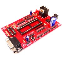 ATMEL Project Board Red
