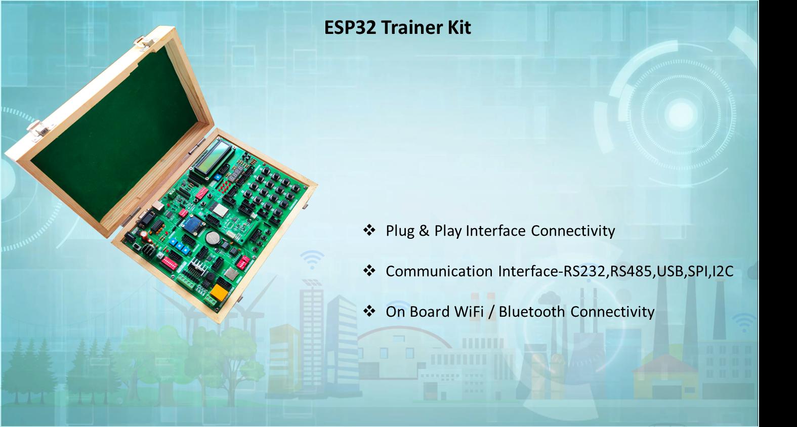 ESP32 IOT TRAINER KIT