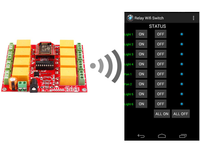 Rdl Wifi Relay Esp Picture
